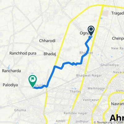 D/154, Ahmedabad to Shilaj Road