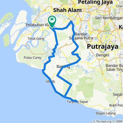 Jalan Kasuarina 7 26, Klang to Jalan Kasuarina 5 45, Klang