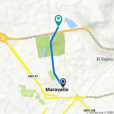 De Calle Carrillo Puerto 434, Maravatio a México - Morelia 94, Maravatio