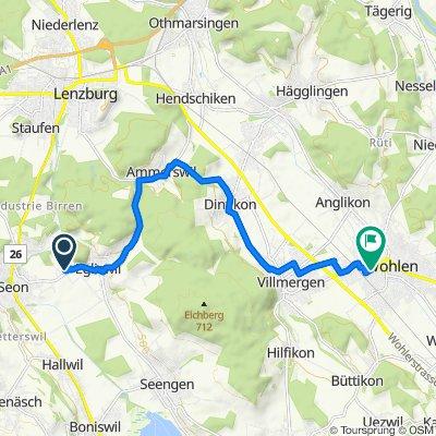 Hutmattenweg 3, Egliswil nach Wohlen AG, Migros