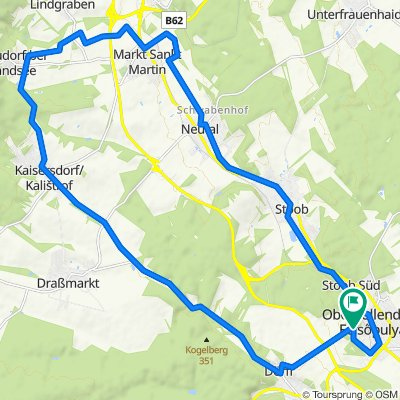 Oberpullendorf nach Oberpullendorf