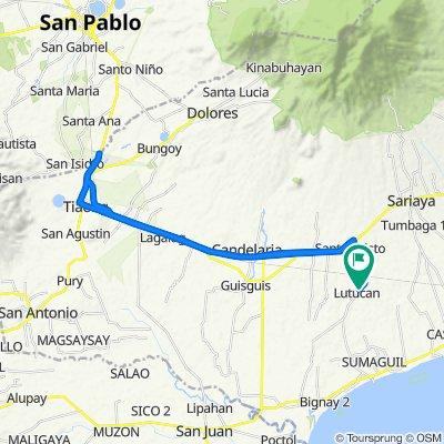 Lutucan-Guisguis Port Road, Sariaya to Lutucan-Guisguis Port Road, Sariaya