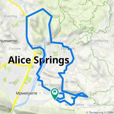 Telegraph Station  Alice Springs Bike Route (Perfect for E-Bike)