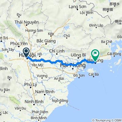 Du lịch bụi Hạ Long bằng xe máy
