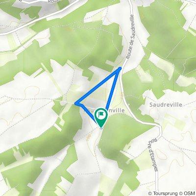9A Route du Moulin à Vent, Villeconin to 11 Route du Moulin à Vent, Villeconin