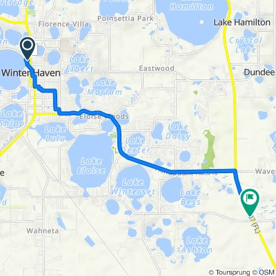 639 Avenue F NW, Winter Haven to 24174 US-27 S, Lake Wales