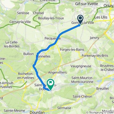 De 1 Esplanade Trois Quartiers, Gometz-la-Ville à 62 Rue du Pont, Saint-Cyr-sous-Dourdan