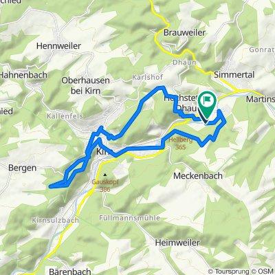Hochstetten-Dhaun Radfahren
