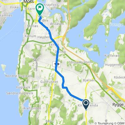 Kurefjordveien 42, Rygge to Bredalbakken 1D, Moss