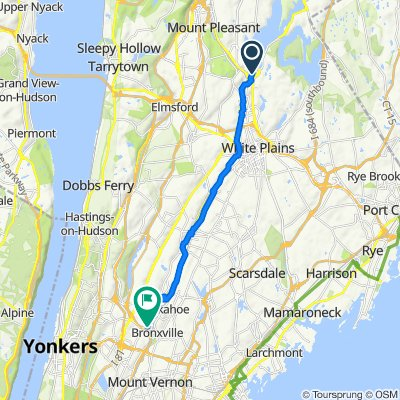 Kensico Dam to Yonkers