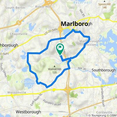 92 Silver Leaf Way, Marlborough to 115 Silver Leaf Way, Marlborough