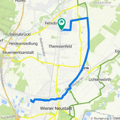 Wienerstraße 80, Theresienfeld nach Gartengasse 4, Eggendorf