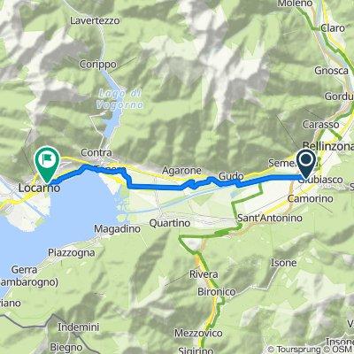 Viale Stazione 30.1, Giubiasco nach Viale Verbano 9, Muralto