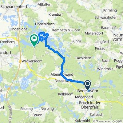 Neunburger Straße 1, Bodenwöhr nach SAD9, Wackersdorf