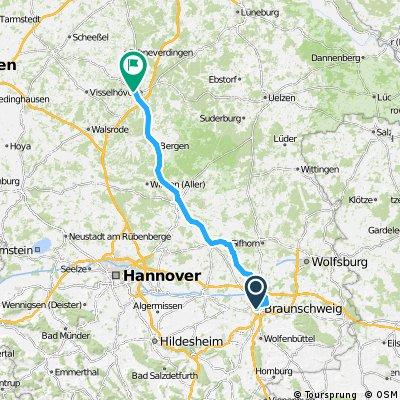 1982 - Goslar - Schwanewede - 2. Tag: Braunschweig - Soltau