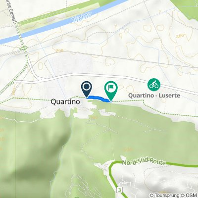 Via Pedemonte 7, Quartino nach Via Pedemonte 14–18, Quartino