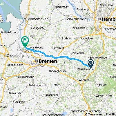 1982 - Goslar - Schwanewede - 3. Tag: Soltau - Schwanewede