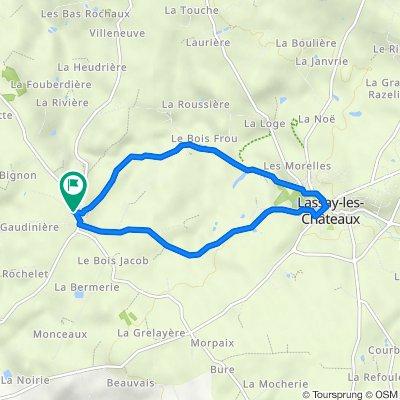 De Rue des Hortensias Niort 3, Lassay-les-Châteaux à Rue des Hortensias Niort 3, Lassay-les-Châteaux