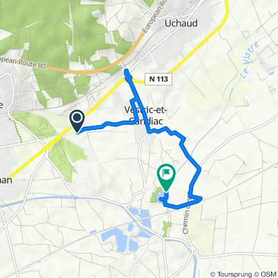 Recovered Route