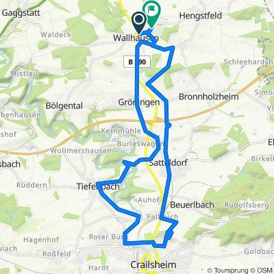 In den Hofäckern 14, Wallhausen nach Kastanienweg 14, Wallhausen