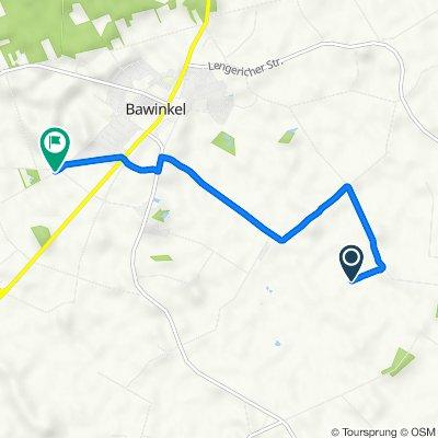 Route nach Bramweg, Bawinkel