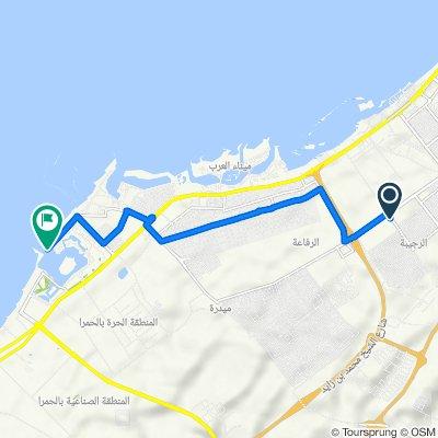 Route to Minsk Street, Al Jazeerah Al Hamrah