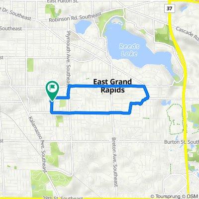 1416 Philadelphia Ave SE, Grand Rapids to 1422 Philadelphia Ave SE, Grand Rapids