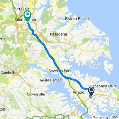 1415 Bretton View Rd, Annapolis to 511–527 Greenway Rd SE, Glen Burnie