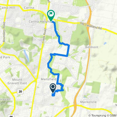 Irandi Street 13, Mansfield to Old Cleveland Road 1019, Carindale