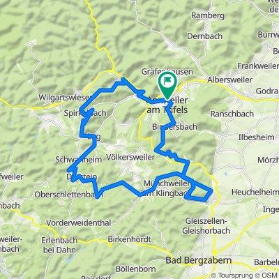 Mountainbiketour 8 Annweiler am Trifels (Annweiler-Süd)