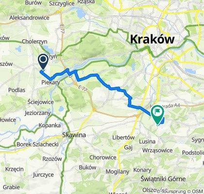 Piekary do Wróblowice Szkoła, Kraków