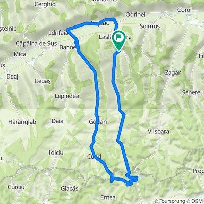 Circuit Laslau Mare - Lacuri - Cund