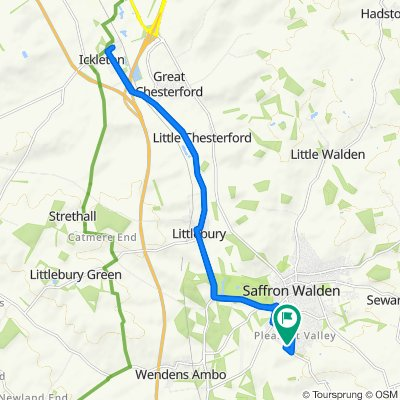 Goodwood, 7 Devils Lane, Saffron Walden to Goodwood, 7 Devils Lane, Saffron Walden