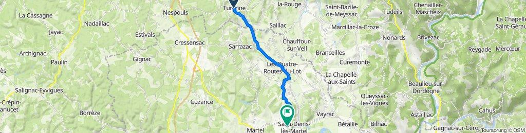 De Avenue du Sénateur Labrousse, Turenne à Pech Laguille, Saint-Denis-lès-Martel