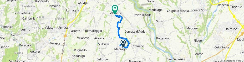 Da Via San Francesco 4/1, Mezzago a Via 4 Novembre 3, Verderio