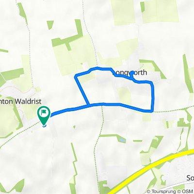 Maple Barn, St Thomas's Close, Faringdon to Maple Barn, St Thomas's Close, Faringdon