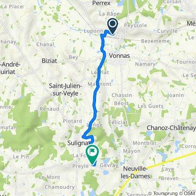 De 451A Route de Mâcon, Vonnas à D64, Neuville-les-Dames