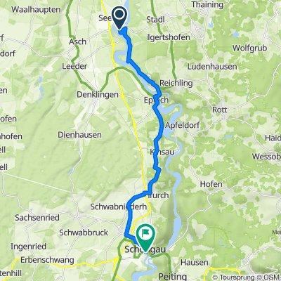 Schiffahrtweg, Vilgertshofen to Marienplatz 8, Schongau