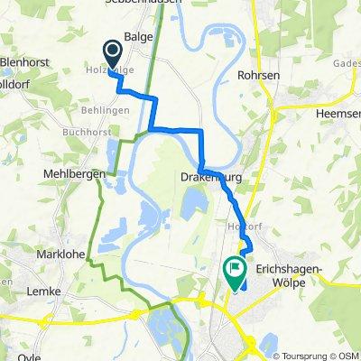 Im Dorfe 8, Balge nach Bollmannstraße 28, Nienburg/Weser