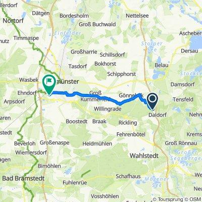 Tannenhof, Daldorf nach Am Steen 12A, Padenstedt
