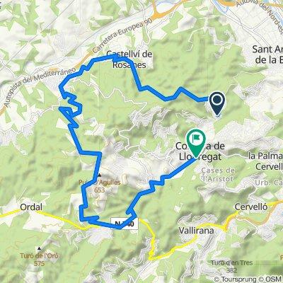 Carretera Sant Andreu 1, Can Coll to Carrer Nuria 2, Santa Rosa