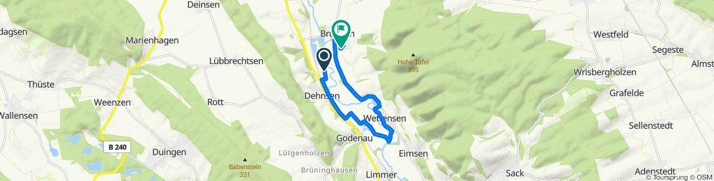 Route nach Im Troge 2, Brüggen