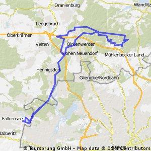 2011-03-05 MTB Tour nach Summt