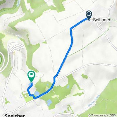 Speicherer Straße 9–13, Beilingen nach Am Sportplatz, Speicher