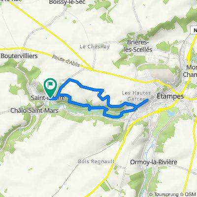 De Montoir de la Croix, Saint-Hilaire à 1 Route de la Pierre Levée, Saint-Hilaire