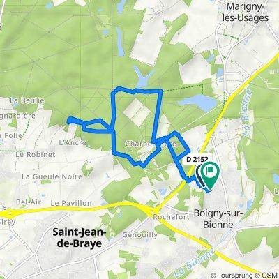 De 1 Rue des Bouvreuils, Boigny-sur-Bionne à 57 Rue des Écureuils, Boigny-sur-Bionne