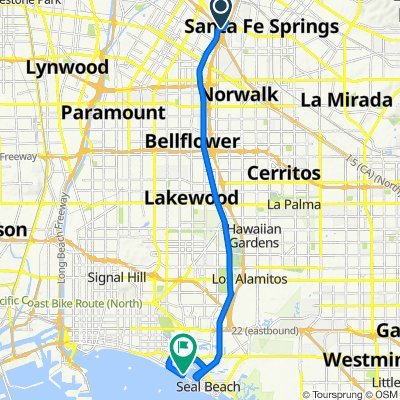 10069 Cedardale Dr, Santa Fe Springs to 76 62nd Pl, Long Beach