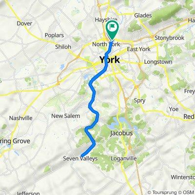 334 Arsenal Rd, York to 1249 Toronita St, York