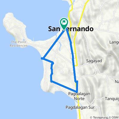 A. Bonifacio Street 020, San Fernando to Mabini Street 388, San Fernando