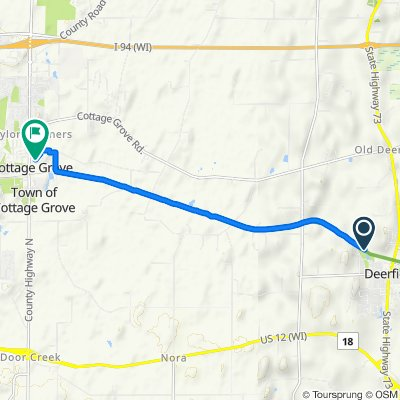 Savannah Parkway 150, Deerfield to Forreston Drive 229, Cottage Grove